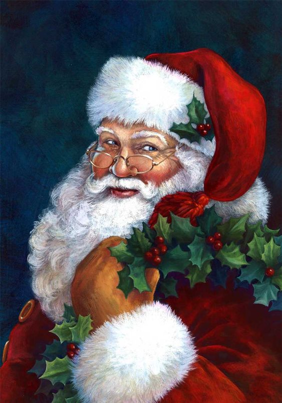 Joyeux Noel Histoire Des Arts.Histoire Santa Is Green